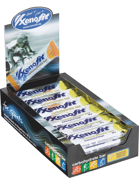 Xenofit Carbohydrate Riegel Box Ananas-Karotte 24 x 68g